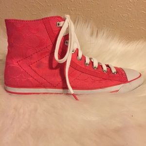 Coach Maisie High-Top Sneakers